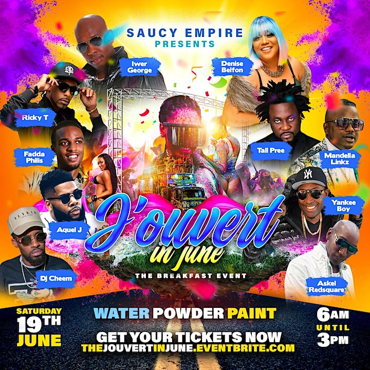 Jouvert In June - New York Edition image