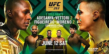 UFC 263 tickets