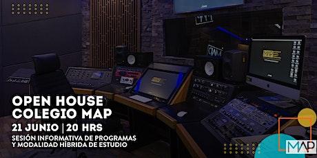 Open House - Colegio MAP (Sesión 1) bilhetes
