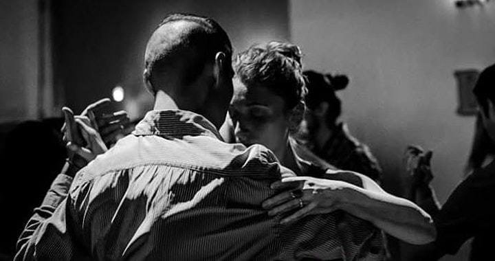 Argentine tango performance and pre-milonga class event w/ wine and cheese image