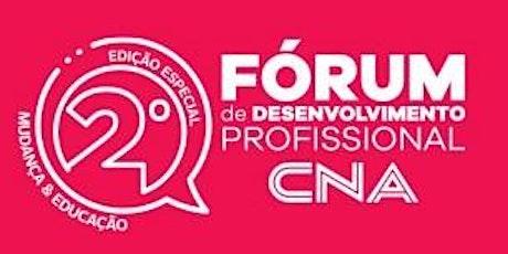 2o Fórum de desenvolvimento profissional ingressos