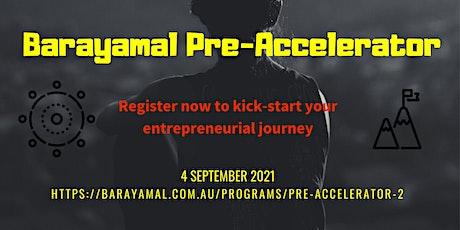 2021 Barayamal Pre-Accelerator #2 tickets