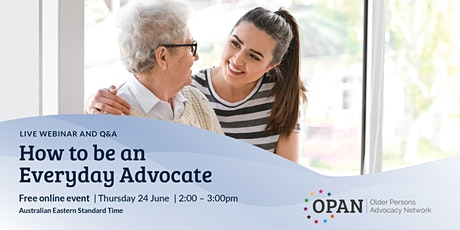 How to be an Everyday Advocate tickets