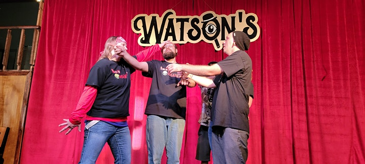 Watson's Live! - Adult Comedy  featuring Improv Insanity & Positive Parkour image