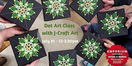 Dot Art Class with J-Craft Art at The Emporium Veneta tickets