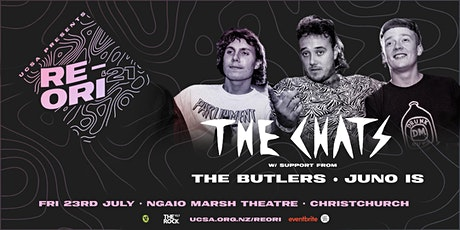UCSA RE-ORI 2021 | The Chats w/ The Butlers & Juno Is (R18) tickets