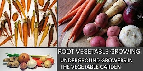 Root Vegetable Growing- Underground Growers in the Vegetable Garden tickets