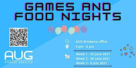 [AUG Brisbane] AUG Games & Food Night tickets