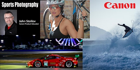 Sports Photography: Live Online with Canon & Samy's Camera tickets