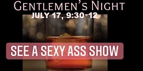 Gentlemen's Night tickets