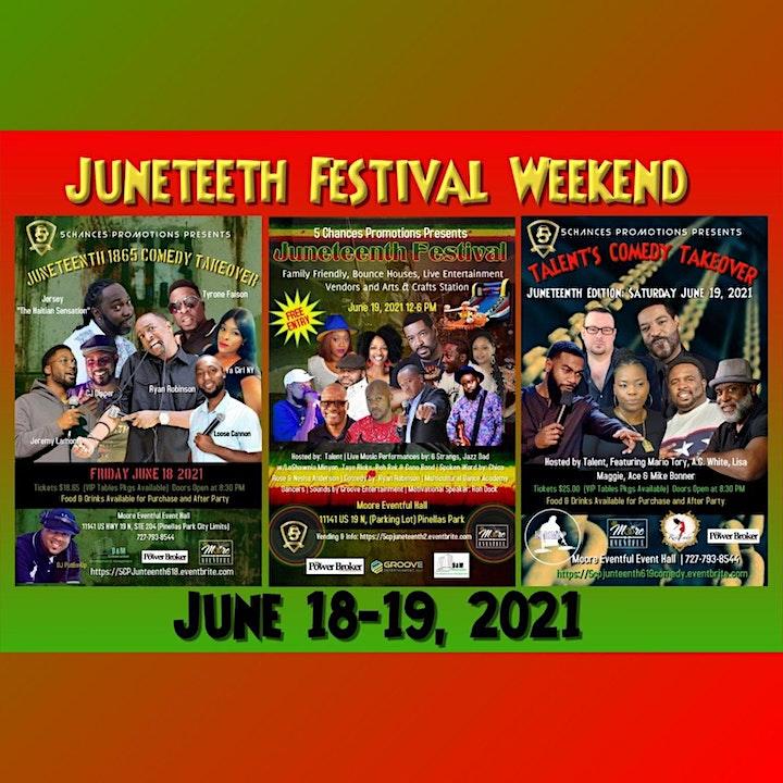 5Chances Presents Junteenth  Festival image