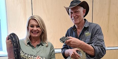Geckoes Wildlife & Ranger Stacey Show (5 - 11 years) tickets