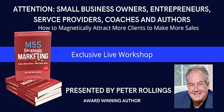 How to Get New  Clients Predictably, Fast and Profitably tickets