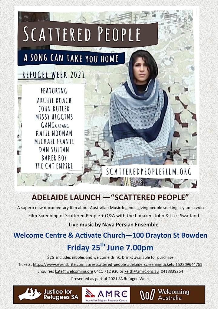 Scattered People: Adelaide Screening image