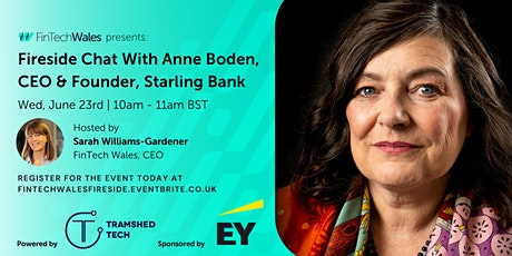Fireside Chat With Anne Boden, CEO & Founder of Starling Bank tickets
