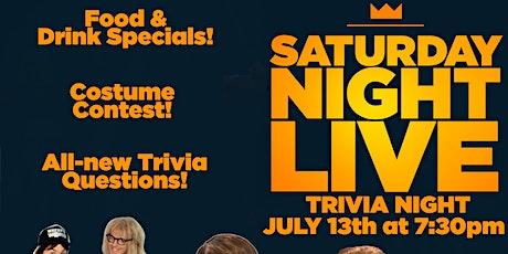 Saturday Night Live Trivia Event! tickets