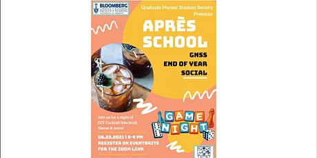 GNSS Presents: Après School - End of Year Social  2021 tickets
