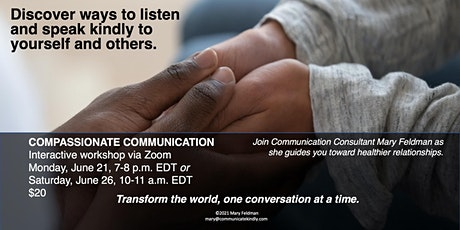 Compassionate Communication Workshop tickets