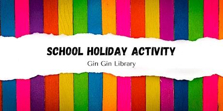 School Holiday Activity: Milk Bottle Elmer tickets