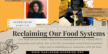 Reclaiming Our Food Systems: A Conversation about our Connection to Land tickets
