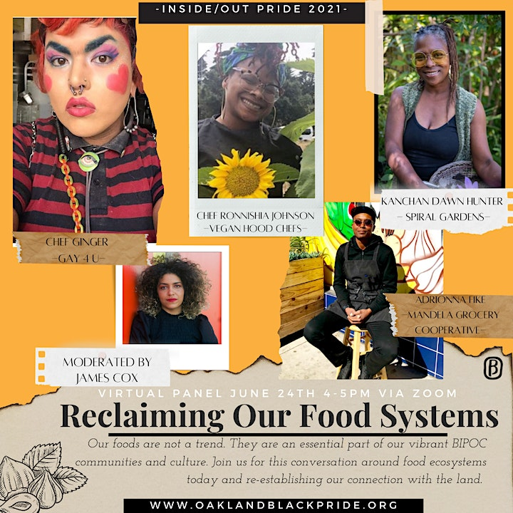 Reclaiming Our Food Systems: A Conversation about our Connection to Land image