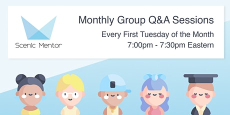 Monthly Group Q & A tickets