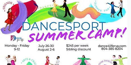 DanceSport Summer Camp tickets