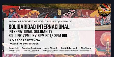 Solidaridad Internacional / International Solidarity entradas