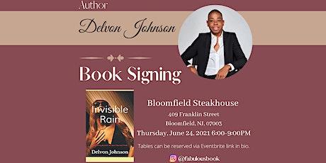 "Delvon Johnson ""Invisible Rain"" Book Signing tickets"