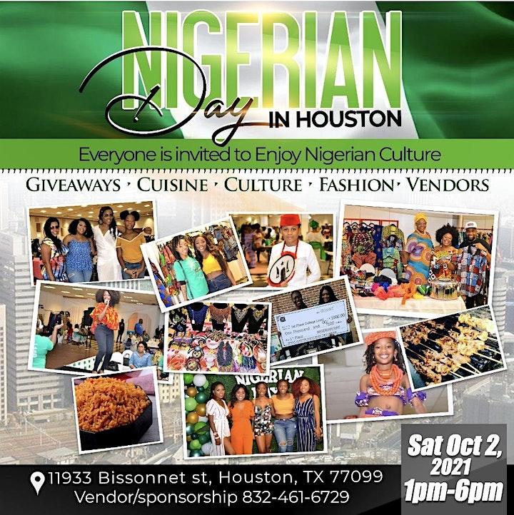 8th Annual Nigerian Day in Houston Festival image