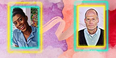 The Art of Conversation: Cartoonists Liz Montague & Chris Ware tickets