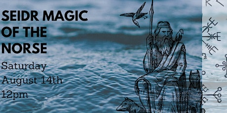 Seidr Magic of the Norse tickets