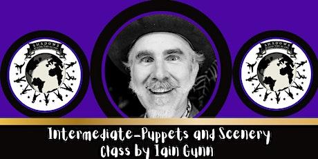 Shadow Festival 2021 Iain Gunn  Intermed.  skills: Shadow Puppets & Scenery tickets