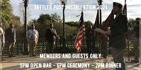 Tattler Post 76th Officer Installation Dinner (Members and Guests Only) tickets