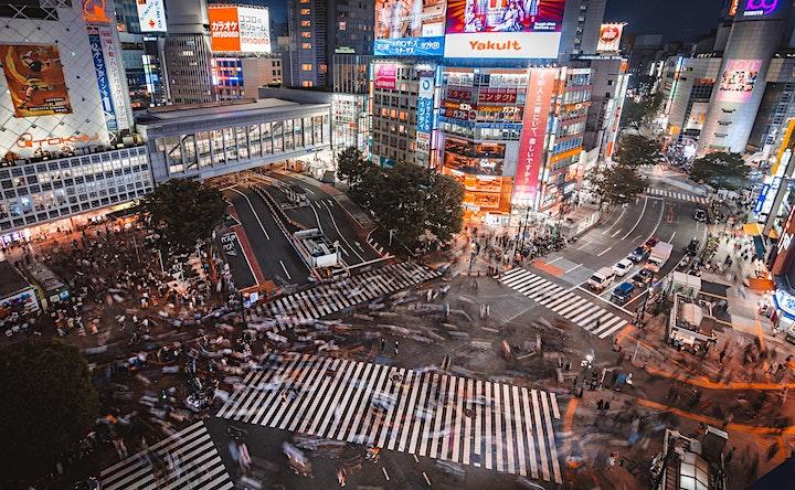 Japan - Virtual Night Walk in Shibuya image