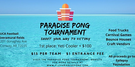 Paradise Pong Tournament tickets