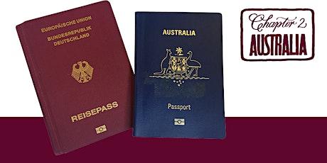 Lunchtime  online seminar  on Dual (Australian/German) Citizenship tickets
