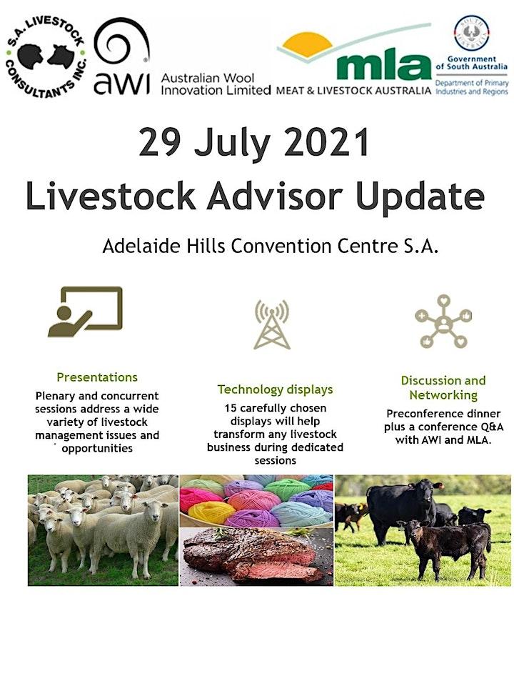 2021 Livestock Advisor Update - Southern Australia image