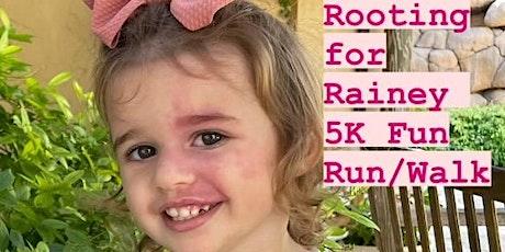 Rooting For Rainey 5K Fun Run and Rainey's Spooky Family 1K Fun Run/Walk tickets