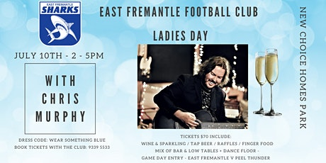 Sharks Ladies Day with Chris Murphy tickets