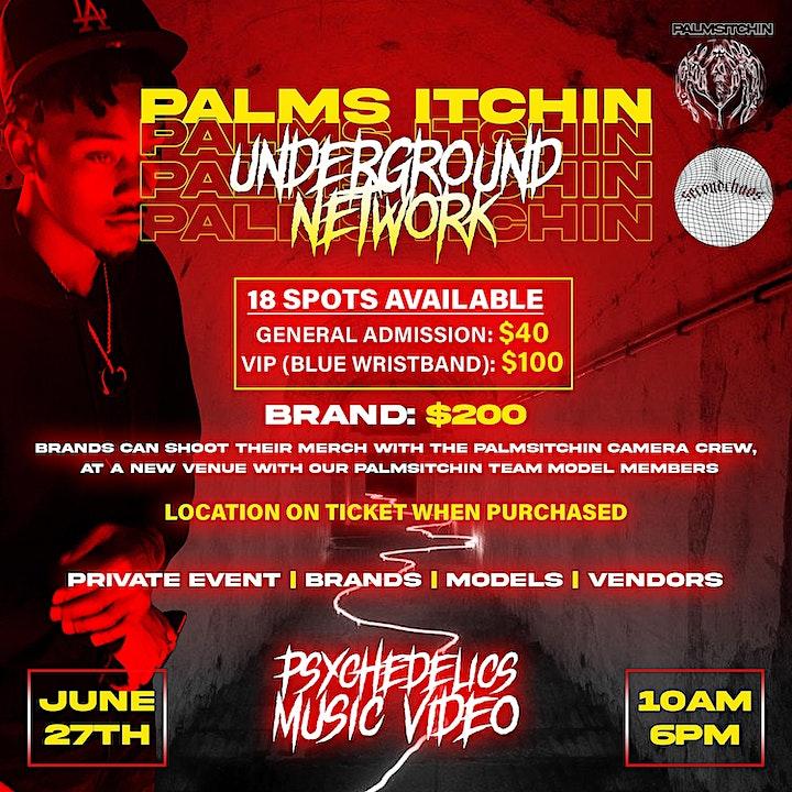 Palms Itchin Underground Network image
