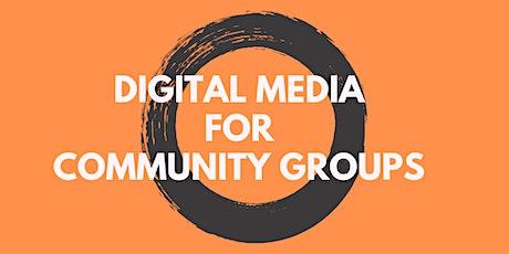 Digital Media for Community Groups @Girrawheen Library/Hub tickets