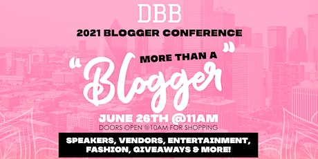 DBB Blogger Conference tickets