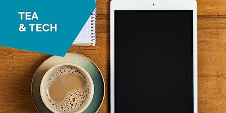 Tea and tech tickets