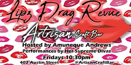Lipz Drag Review / Show tickets
