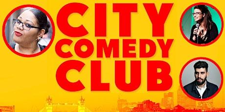 CITY COMEDY CLUB: 31 JULY tickets