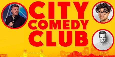 CITY COMEDY CLUB: 30 JULY tickets