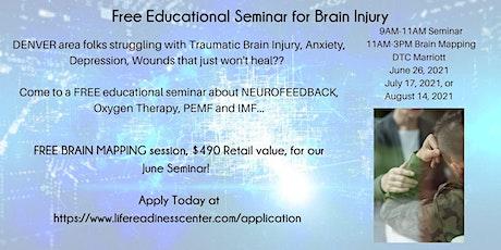 FREE Educational Seminar:  Healing from Brain Injury tickets