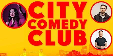 CITY COMEDY CLUB: 29 JULY tickets