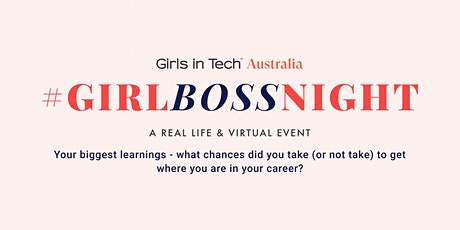 Girl Boss Night: Your biggest learnings tickets